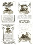 1903 ca. NATIONAL National xerox of magazine ads Courtesy of the Antique Automobile Club of America Library Hershey, PA