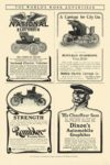 1903 NATIONAL Electric The Vehicle for Service National Motor Vehicle Co Indianapolis, IND THE WORLD'S WORK ADVERTISER 1903 6.25″x10″