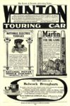 1903 NATIONAL Electric NATIONAL ELECTRIC VEHICLES NATIONAL MOTOR VEHICLE COMPANY Indianapolis, IND The Review of Reviews-Advertising Section 1903 6.5″x9.75″ page 70