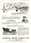 1904 NATIONAL Nationals ARE MAKING TRACKS IN EVERY STATE MOTOR AGE 8.5″x12″