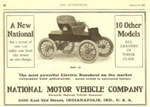 1903 2 21 NATIONAL The New National Model 100 The Automobile February 21, 1903 7.25″x5″ page 68