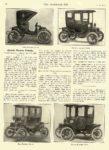1911 1 25 OHIO Electric Electric Pleasure Vehicles The Ohio Electric Car Company Toledo, OHIO THE HORSELESS AGE January 25, 1911 8.5″x12″ page 192