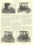 1911 1 25 OHIO Electric Article Electric Pleasure Vehicles Ohio Electric Coupe THE HORSELESS AGE January 25, 1911 University of Minnesota Library 8.25″x11.5″ page 192