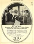 1913 10 25 OHIO Electric EFFORTLESS! The Ohio Electric Car Company Toledo, OHIO THE SATURDAY EVENING POST October 25, 1913 10″x13.25″ page 59