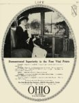 1913 OHIO Electric Demonstrated Superiority in the Four Vital Points The Ohio Electric Car Company Toledo, OHIO LIFE 1913 8.5″x11″ page 577