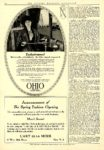 1914 2 OHIO Electric Exclusiveness! The Ohio Electric Car Company Toledo, OHIO THE THEATRE MAGAZINE ADVERTISER February 1914 9.25″x14″ page 104