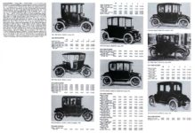 OHIO Electric Toledo, Ohio 1910-1918 Standard Catalog of AMERICAN CARS 1805-1942 By Beverly Rae Kimes & Henry Austin Clark, Jr. Krause Publications ISBN: 0-87341-428-4 8.5″x11″ pages 1056 & 1057