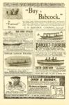 "1900 6 ""Buy a Babcock"" VEHICLES The Century Illustrated Monthly Magazine Vol. LX No. 2 June 1900 6.75″x10″ page 52"