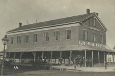 16 – Market House, corner Wabasha and Seventh Street; built 1853 Photographs of Early St. Paul From Edward A Bromley's Collection Published ca. 1910 5'5″x3.5″ Postcard