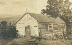 2 – Old Catholic Chapel of St. Paul, 1841 Photographs of Early St. Paul From Edward A Bromley's Collection Published ca. 1910 5'5″x3.5″ Postcard