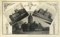 41 – Three other Capitols, 1853, etc., etc. Photographs of Early St. Paul From Edward A Bromley's Collection Published ca. 1910 5'5″x3.5″ Postcard