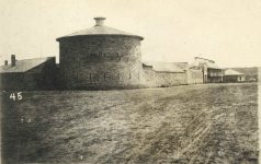45 – 1864 – Exterior of Fort Snelling, wall around the post Photographs of Early St. Paul From Edward A Bromley's Collection Published ca. 1910 5'5″x3.5″ Postcard