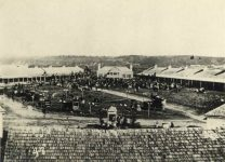 48 – First State Fair in Fort Snelling, 1860 Photographs of Early St. Paul From Edward A Bromley's Collection Published ca. 1910 5'5″x3.5″ Postcard