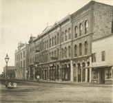 58 – Wabasha Street between Fourth and Third Streets, 1873 Photographs of Early St. Paul From Edward A Bromley's Collection Published ca. 1910 5'5″x3.5″ Postcard