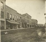 63 – Third Street to Wabasha from Cedar, 1871 Photographs of Early St. Paul From Edward A Bromley's Collection Published ca. 1910 5'5″x3.5″ Postcard