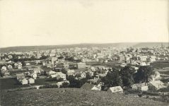 64 – Birdseye view of St. Paul, 1871 Photographs of Early St. Paul From Edward A Bromley's Collection Published ca. 1910 5'5″x3.5″ Postcard