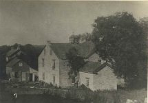 7 – Gen. H.H. Sibley's home at Mendota, built 1836 Photographs of Early St. Paul From Edward A Bromley's Collection Published ca. 1910 5'5″x3.5″ Postcard