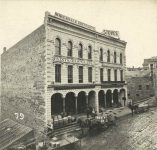 79 – Third Street between Sibley and Jackson, 1872 Photographs of Early St. Paul From Edward A Bromley's Collection Published ca. 1910 5'5″x3.5″ Postcard