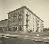 92 – Metropolitan hotel, corner Third and Washington Streets, 1872 Photographs of Early St. Paul From Edward A Bromley's Collection Published ca. 1910 5'5″x3.5″ Postcard