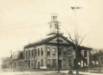 94 – City Hall, built 1856, and Baldwin School Photographs of Early St. Paul From Edward A Bromley's Collection Published ca. 1910 5'5″x3.5″ Postcard