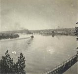 95 – River View, 1875 Photographs of Early St. Paul From Edward A Bromley's Collection Published ca. 1910 5'5″x3.5″ Postcard