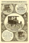 1905 10 POPE Waverly Electrics Pope Motor Company Indianapolis, Indiana AUTOMOBILES Oct 1905 6″x9.75″ page 81