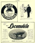 1905 POPE-Waverley Electric POPE WAVERLEY ELECTRICS Model 25C Price $1450 POPE MOTOR CAR CO. Indianapolis, IND LIFE 1905 8.5″x10.5″