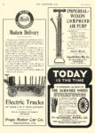 1905 8 30 POPE-WAVERLEY Electric Trucks Modern Delivery Pope Motor Car Company Indianapolis, IND THE HORSELESS AGE August 30, 1905 8.5″x12″ page 4
