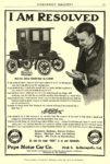 1906 1 POPE-Waverley Electric I AM RESOLVED Pope Motor Car Co. Indianapolis, IND EVERYBODY'S MAGAZINE January 1906 6.5″x9.75″ page 51