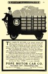 1906 7 POPE-Waverley Electric THE COMPLETE SUCCESS POPE MOTOR CAR CO., Waverley Dept. Indianapolis, IND Commercial Motor Car Department July 1906 6.25″x9.25″ page 175