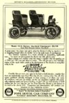 1907 POPE-Waverley Electric Model 60-A Surrey, $1,700 POPE MOTOR CAR COMPANY, Waverley Dept. Indianapolis, IND MUNSEY'S MAGAZINE – ADVERITSING SECTION 1907 6.5″x9.75″