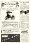 1907 1 RAUCH & LANG Electric The pleasures of AUTOMOBILING The Rauch & Lang Carriage Co. Cleveland, OHIO MoToR January 1907 9.25″x13.25″ page 234
