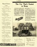 1910 RAUCH & LANG Electric The Car That's Easiest to Keep The Rauch & Lang Carriage Co. Cleveland, OHIO LIFE 1910 8.5″x11″ page 407