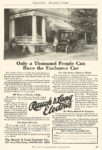 1911 ca. RAUCH & LANG Electric Only a Thousand People Can The Rauch & Lang Carriage Co Cleveland, OHIO THE COSMOPOLITAN – Advertising Section 6″x9″ page 83