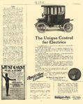 1911 2 15 RAUCH & Lang Electric The Unique Control for Electrics The Rauch & Lang Carriage Co Cleveland, OHIO LIFE February 15, 1911 8.75″x11″ page 365