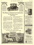 1913 10 11 RAUCH & LANG Electric The Climax in Electric Car Construction The Rauch & Lang Carriage Co. Cleveland, OHIO THE SATURDAY EVENING POST October 11, 1913 10″x13.5″ page 60