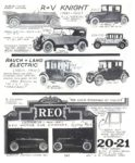 "1921 RAUCH & LANG Electric ""c-55″ MONSTROUS American Car Spotter's Guide 1920-1980 By Tad Burness Motorbooks International Osceola, WIS 1986 ISBN: 0-87938-223-6 8.5″x9.25"" page 242"