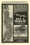 "1900 8 RIKER Electric BUY A ""RIKER"" The Riker Electric Vehicle Co Elizabethport, NJ VEHICLES August 1900 6.5″x9.75″ page 45"