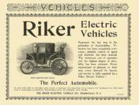1900 RIKER Electric Demi Coach The Riker Electric Vehicle Co Elizabethport, NJ VEHICLES 6.25″x4.75″ page 52