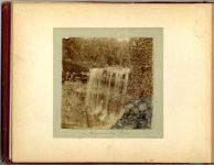 – Minnehaha Falls – 1897 Minneapolis & St. Paul, Minnesota PHOTOGRAPHS To: Mrs. N.F. Parsons from M.I. Came, St. Paul, Minn (524 Cedar?) October 21st 1897 Snapshot: 3.5″x3.5″ Album: 7″x5.5″