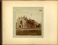 Christ's Church Episc Paul's church Oct '97 1897 Minneapolis & St. Paul, Minnesota PHOTOGRAPHS To: Mrs. N.F. Parsons from M.I. Came, St. Paul, Minn (524 Cedar?) October 21st 1897 Snapshot: 3.5″x3.5″ Album: 7″x5.5″