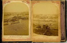 ALBUM of the ROUNDS Page 3: MINNEAPOLIS From top of the Winslow House East Side Page 4: MILLS From top of the Winslow House East Side