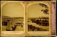 ALBUM of the ROUNDS Page 11: ST. PAUL BRIDGE Page 12: FORT SNELLING