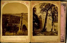 ALBUM of the ROUNDS Page 13: FORT SNELLING BRIDGE Page 14: MINNE-HA-HA Laughing Water
