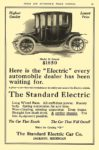 1912 12 STANDARD Electric Car Model M Coupe $1850 The Standard Electric Car Co. Jackson, MICH CYCLE AND AUTOMOBILE TRADE JOURNAL December 1911 6.5″x10″ page 19