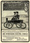 1902 STUDEBAKER Electric A MOTOR-VENICLE WORTHY of the STUDEBAKER NAME Studebaker Bros MFG CO Factory and Executive Office South Bend, IND 5.5″x8″