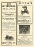 1903 11 11 STUDEBAKER Electric STUDEBAKER Electric Automobiles STUDEBAKER BROS MFG CO South Bend, IND THE HORSELESS AGE Nov 11, 1903 9.25″x12″ page 12
