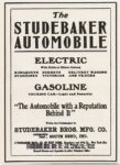 1904 The STUDEBAKER AUTOMOBILE Electric – Gasoline South Bend, IN 4″x5.5″