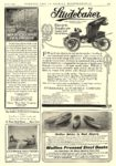 1907 6 STUDEBAKER Electric Electric Stanhope Model 22b $1250 Studebaker Automobile Company South Bend, IND COUNTRY LIFE IN AMERICA June 1907 9.5″x13.5″ page 225