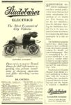1908 STUDEBAKER Electric The Most Economical City Vehicles Studebaker Automobile Company South Bend, IND 1908 5.5″x8.25″